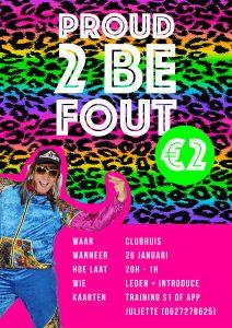 Proud 2 be fout party @ Clubhuis | Dieren | Gelderland | Nederland